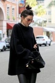 Kendall Jenner Out For Shopping in Beverly Hills