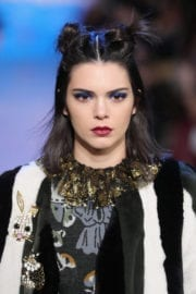 Kendall Jenner Stills at Anna Sui Fashion Show in New York