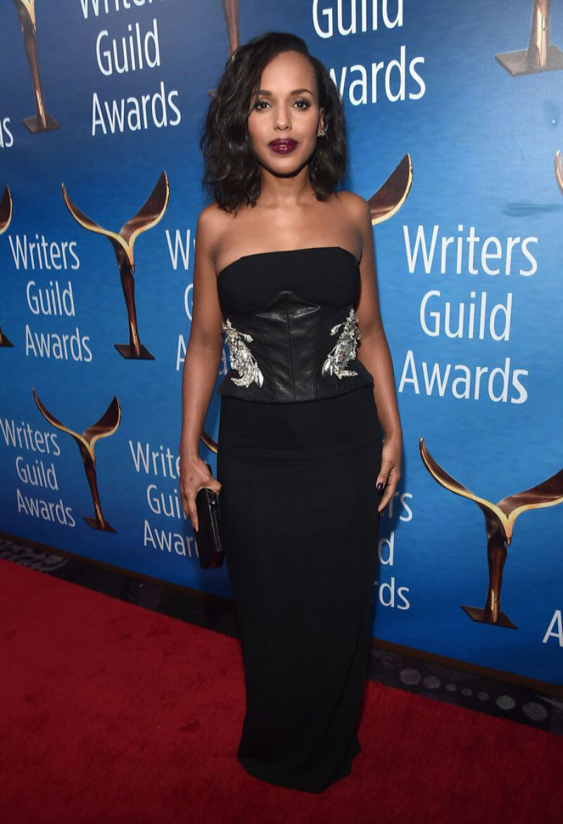 Kerry Washington Stills at 2017 Writers Guild Awards in Beverly Hills