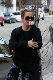 Khloé Kardashian Stills Out and About in Calabasas