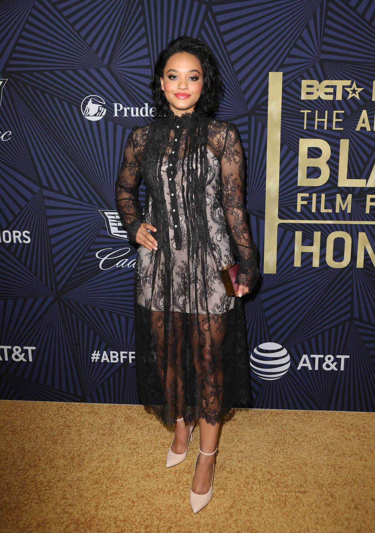 Kiersey Clemons Stills at Bet's 2017 American Black Film Festival Honors Awards
