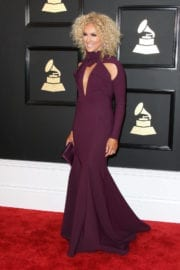 Kimberly Schlapman at 59th Annual Grammy Awards in Los Angeles