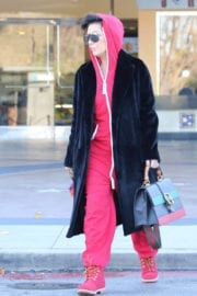 Kris Jenner Out And About in Calabasas