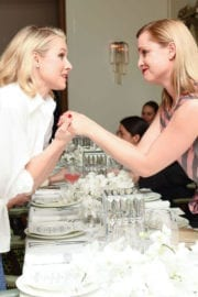Kristen Bell at Tome Dinner Celebrating White Shirt Project and Freedom for All Foundation in Los Angeles