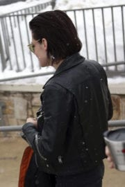 Kristen Stewart Out and About in Park City