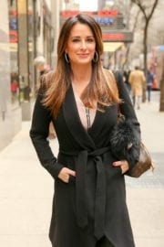 Kyle Richards Out in New York