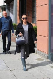 Kyle Richards Stills Out Shopping in Beverly Hills