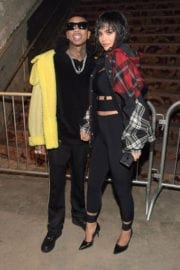 Kylie Jenner and Tyga Stills at Alexander Wang Fashion Show in New York