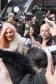 Kylie Jenner Arrives to Her Store Oppening in New York