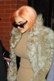 Kylie Jenner at Her Pop Up Shop Opening in New York