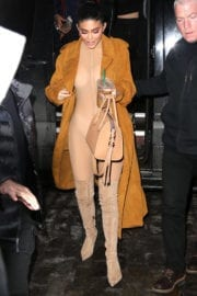 Kylie Jenner Stills at Her Pop Up Shop Opening in New York