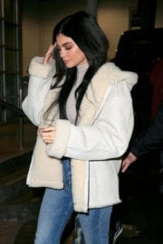 Kylie Jenner Stills Leaves Yeezy Fashion Show in New York