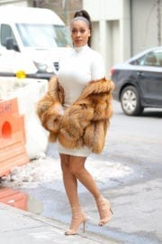 La La Anthony Stills Out in New York