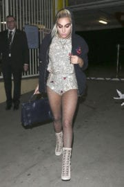 Lady Gaga Night Out in Brentwood