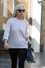 Lady Gaga Stills Out and About in Los Angeles