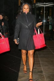 Laila Ali Out and About in New York