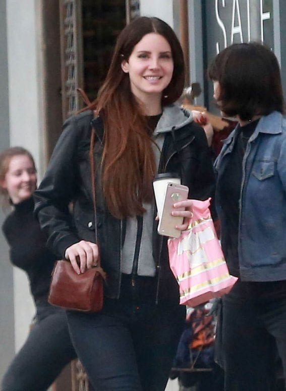 Lana Del Rey Stills Out and About in West Hollywood