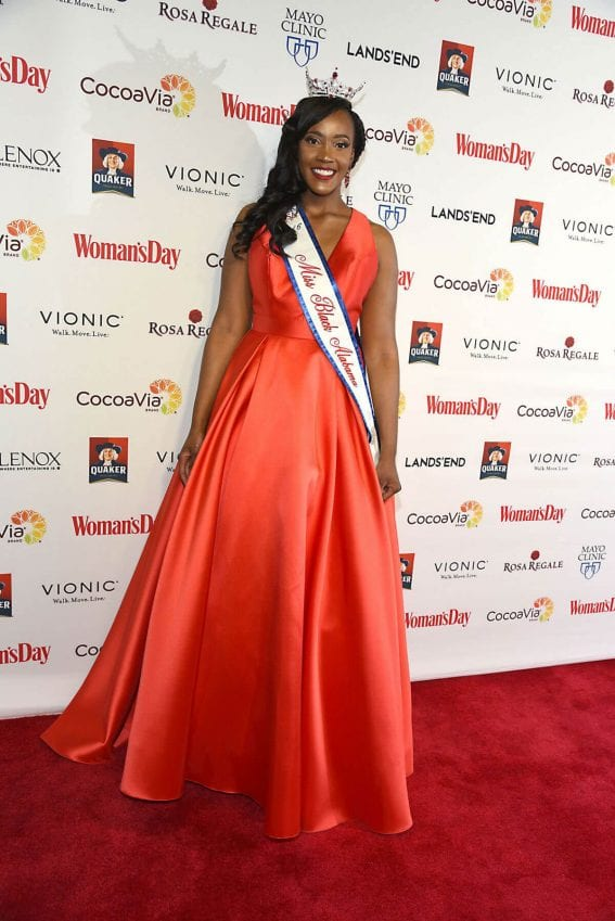 Laquitta Wilkins at Women's Day 14th Annual Red Dress Awards in New York