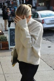Lara Bingle Out And About in New York
