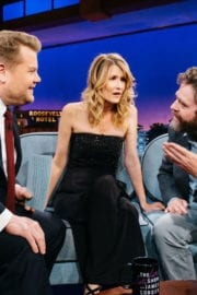 Laura Dern Stills at The Late Late Show with James Corden