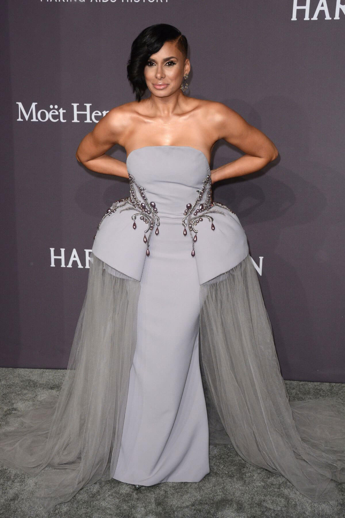 Laura Govan at AMFAR 2017 New York Gala