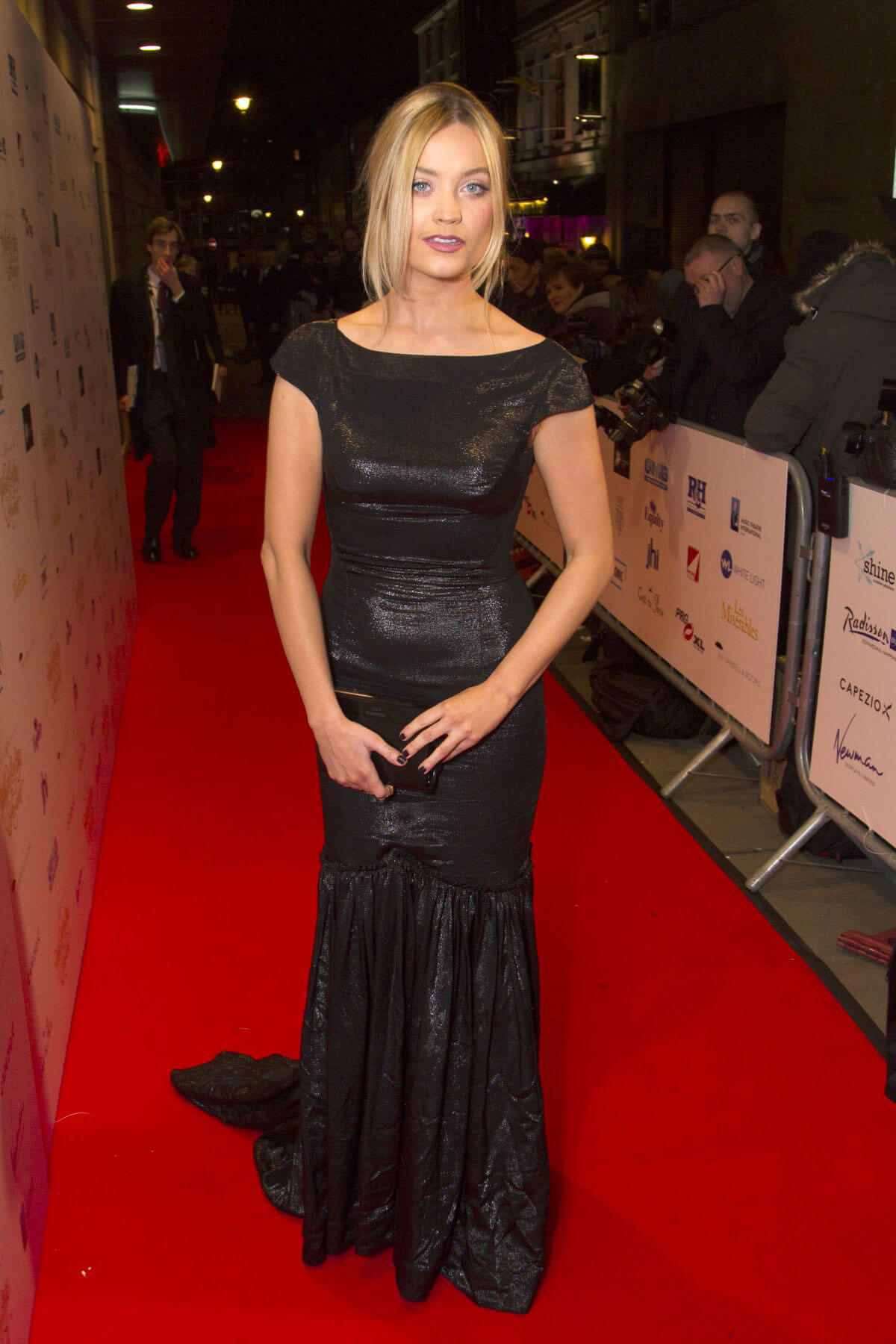 Laura Whitmore Stills at 2017 WhatsOnStage Awards Concert in London