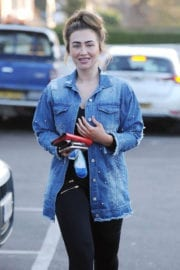 Lauren Goodger Out and About in Essex