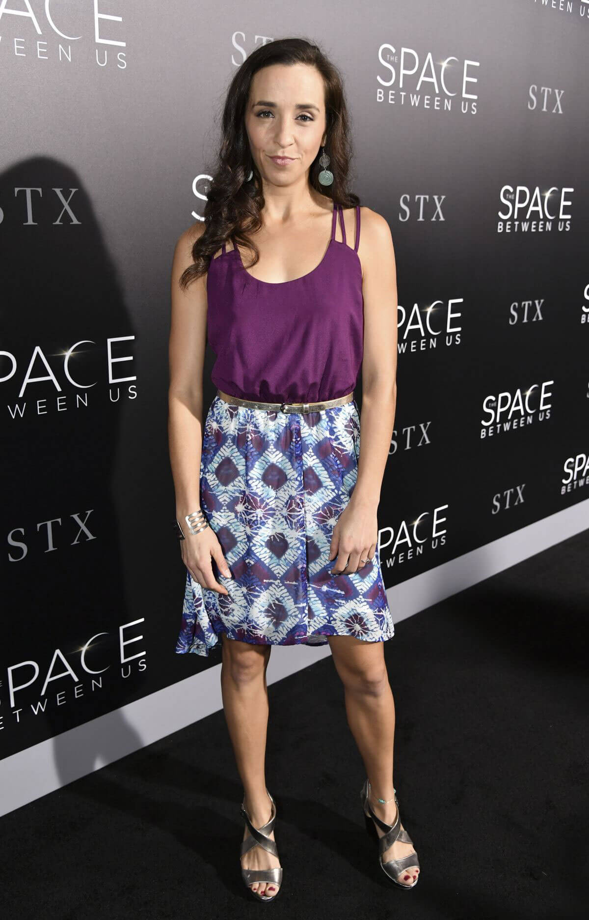 Lauren Myers at 'The Space Between Us' Premiere in Los Angeles