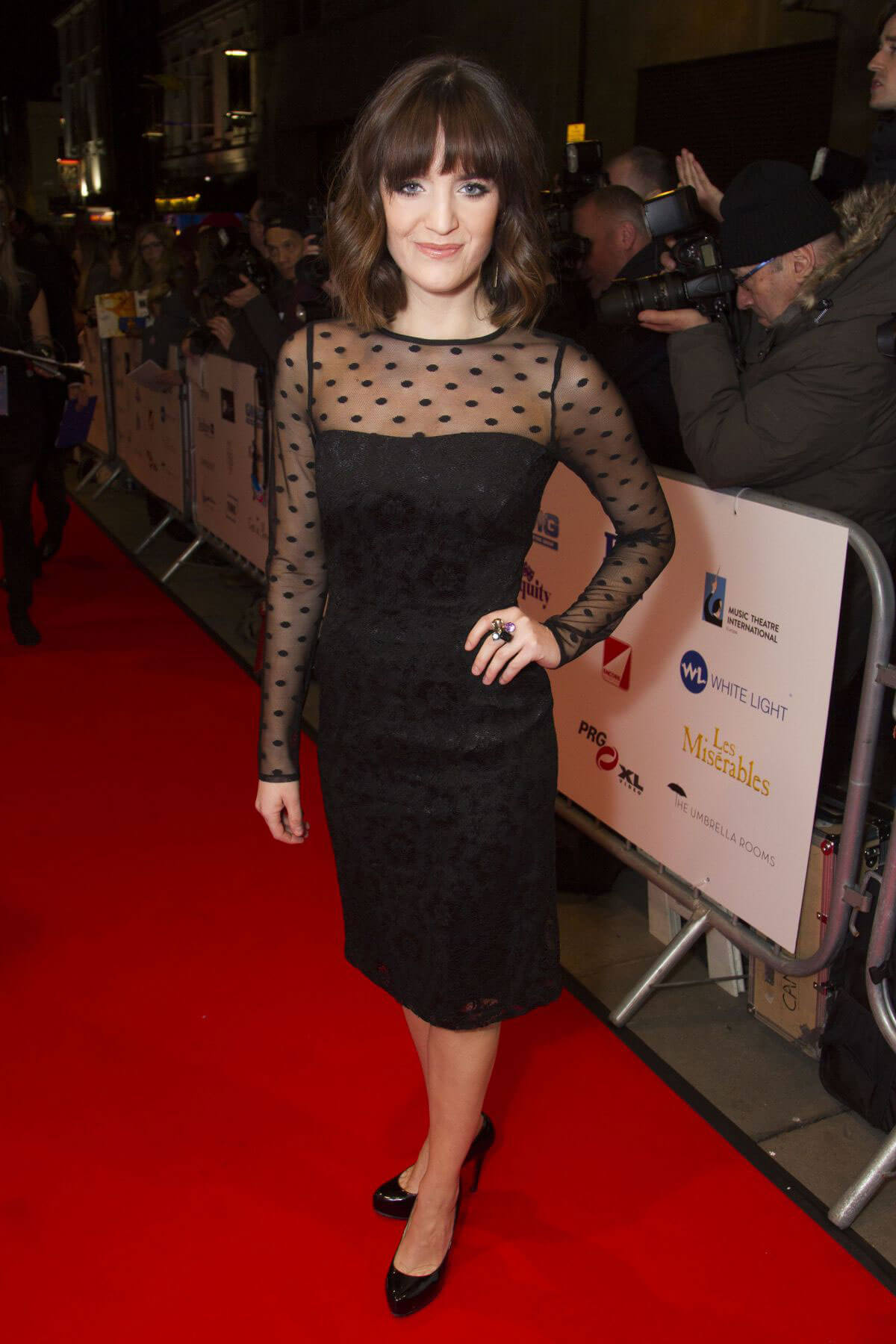Lauren Samuels Stills at 2017 WhatsOnStage Awards Concert in London