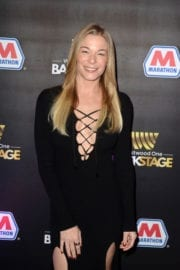 LeAnn Rimes Stills at Westwood One Backstage at the Grammys in Los Angeles
