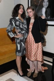 Lena Dunham at Instyle March Issue Party in New York
