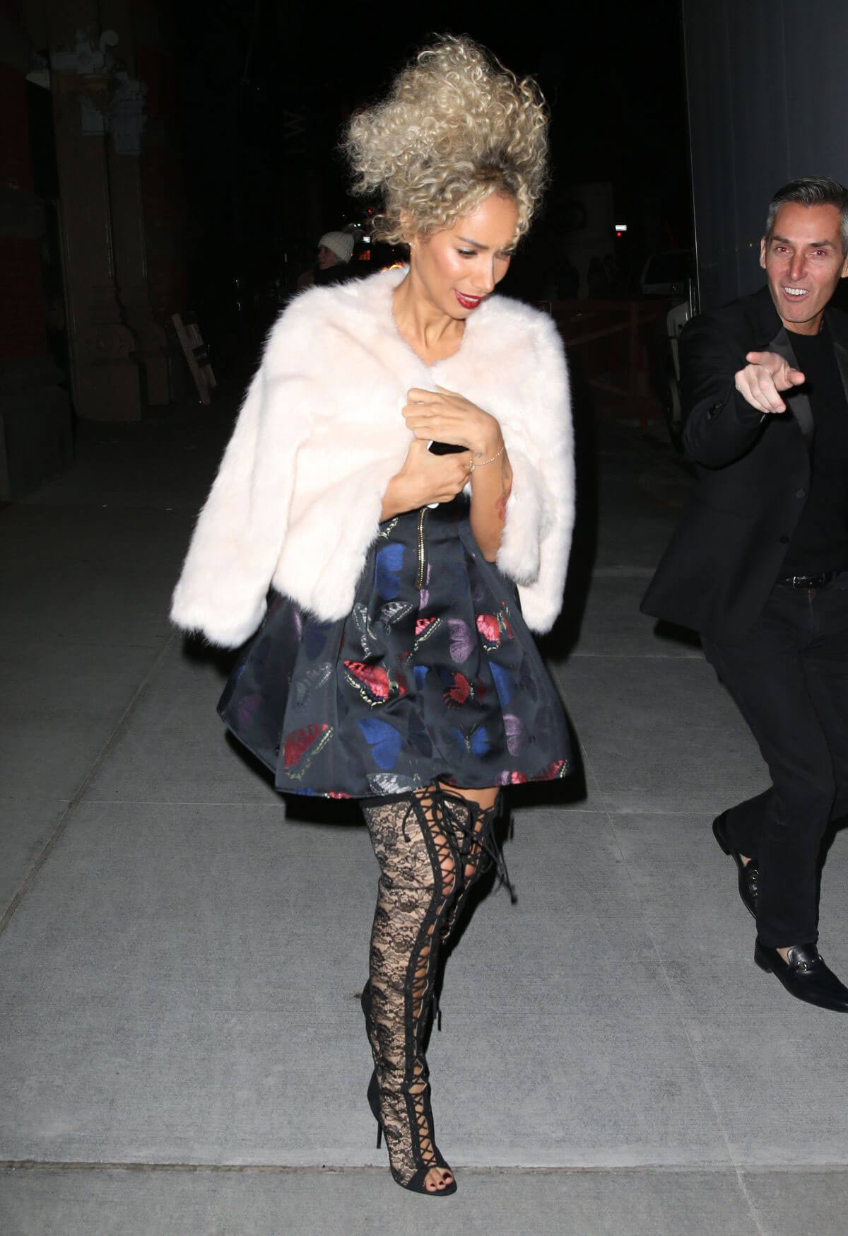 Leona Lewis Night Out in New York