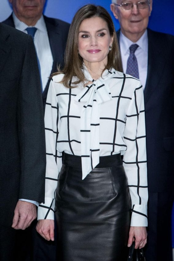 Letizia Ortiz Stills at El Valor Economico Del Espanol Conference in Madrid