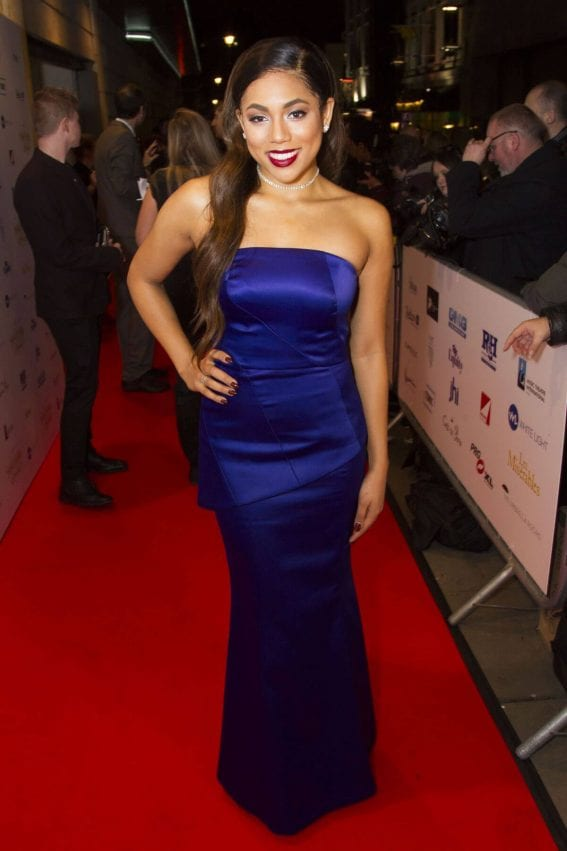 Liisi LaFontaine Stills at 2017 WhatsOnStage Awards Concert in London