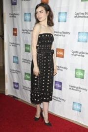 Lily Collins at 32nd Annual Artios Awards in Los Angeles