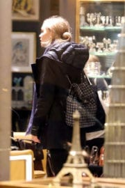 Lily-Rose Depp Out for Shopping in Paris