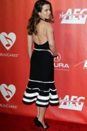 Linda Cardellini at 59th Grammy Awards - MusiCares Person of the Year Honoring Tom Petty