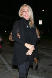 Linda Thompson Stills Out for Dinner in West Hollywood