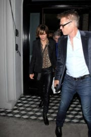 Lisa Rinna Leaves a Restaurant in West Hollywood