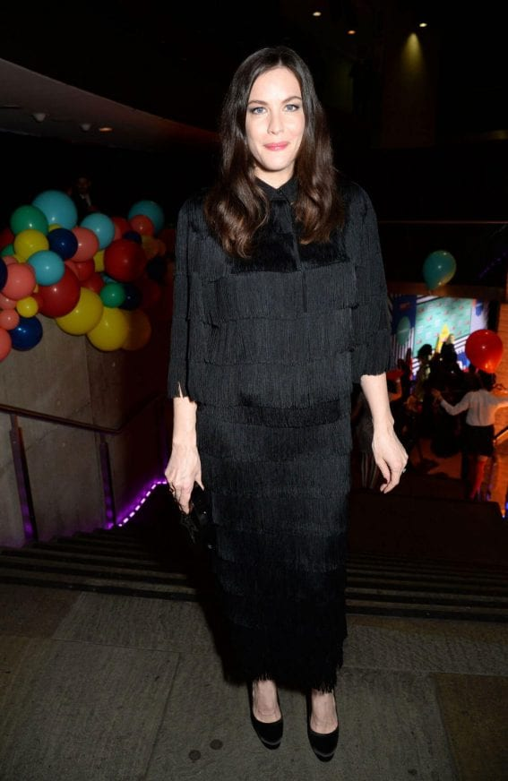 Liv Tyler Stills at The Naked Heart Foundation Fabulous Fund Fair in London
