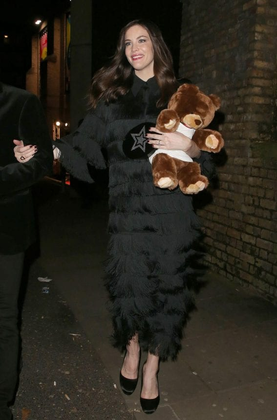 Liv Tyler Stills Night Out in London