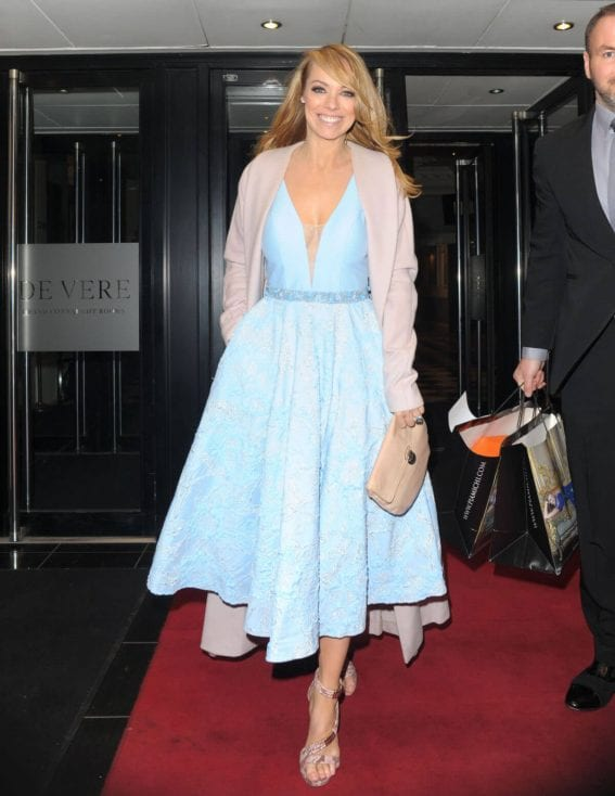 Liz McClarnon Leaves Pia Michi Collection Launch in London