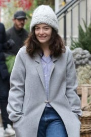 Lorde Out and About in New York