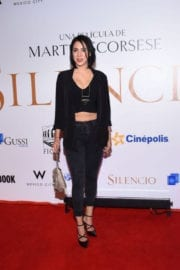 Lore Graniewicz Stills at Silence Premiere in Mexico City