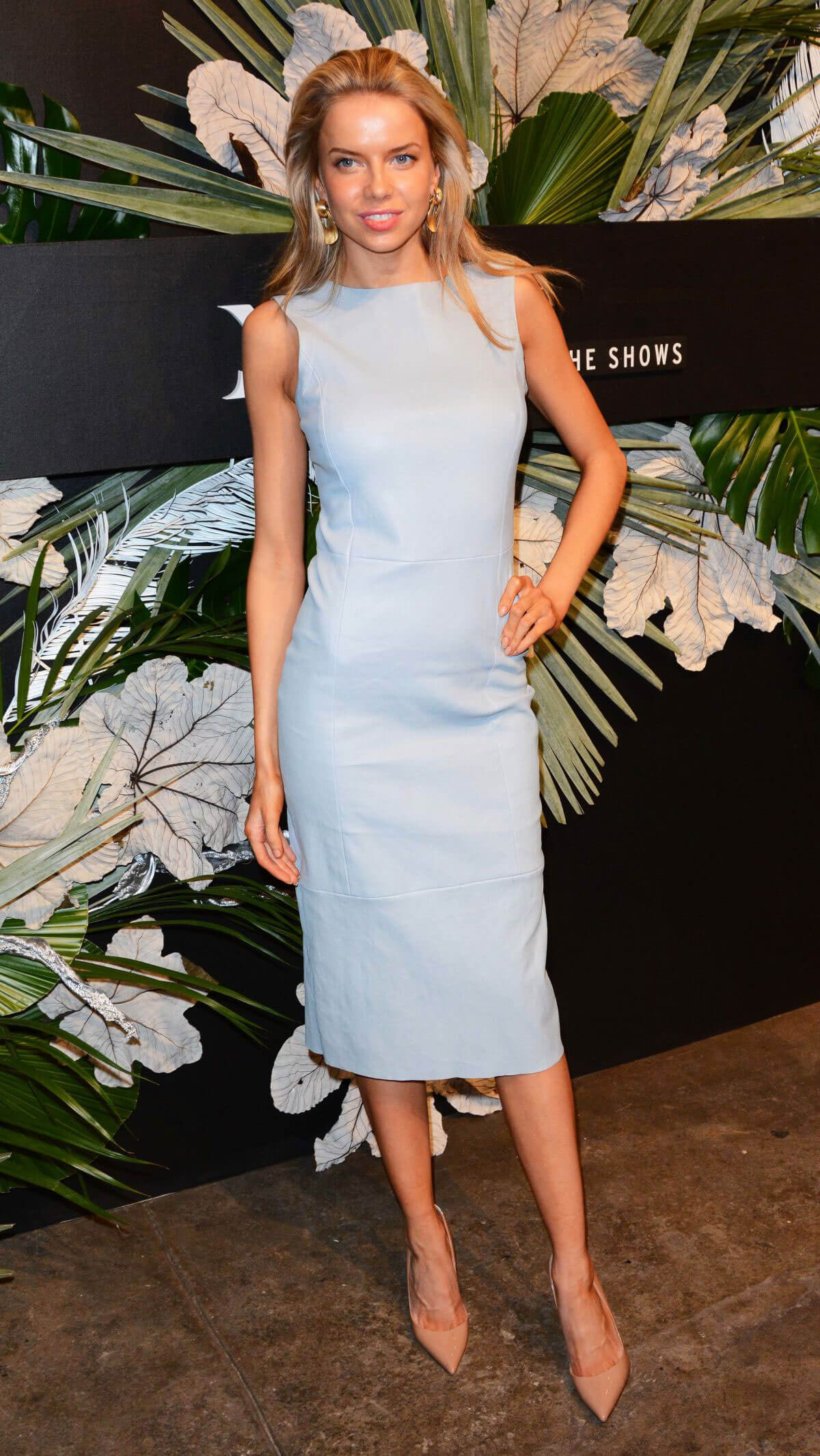 Louisa Warwick at ELLE, E! and Img New York Fashion Week Kick-off Party in New York