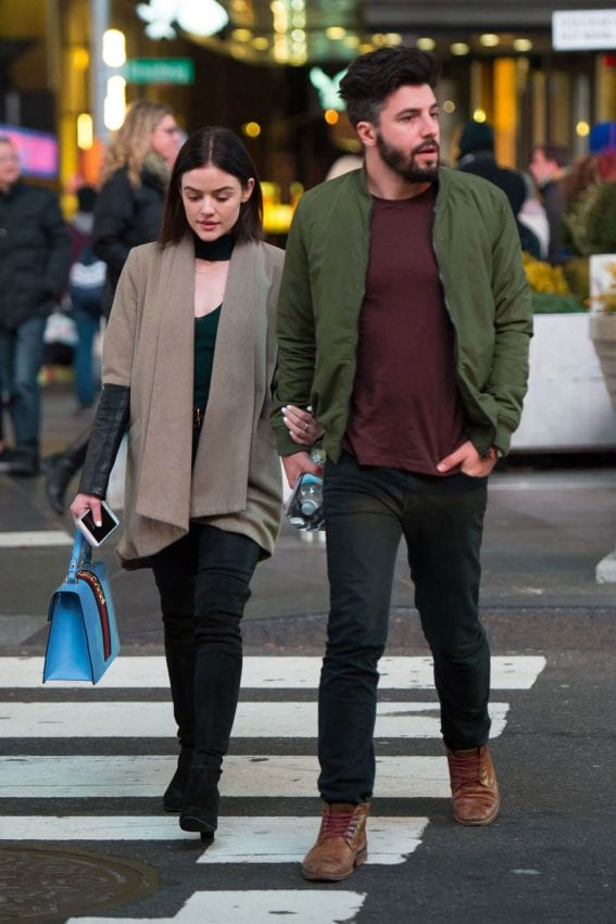 Lucy Hale and Anthony Kalabretta Out in New York City