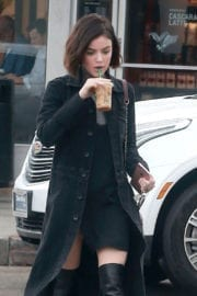 Lucy Hale Stills Out for Coffee in West Hollywood