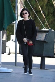Lucy Hale Stills Out for Iced Green Tea in Studio City