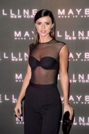Lucy Mecklenburgh Stills at Maybelline's Bring on the Night Party in London