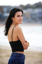 Lucy Watson Stills on the Set of a Photoshoot in Sydney